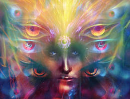 Visionary art by LouisDyer