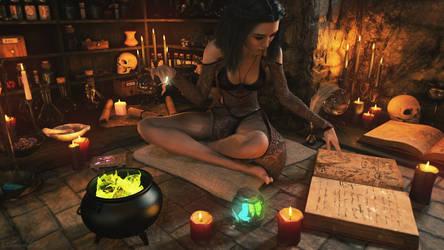 Witch by SorenZer0
