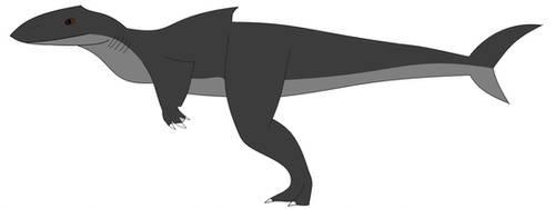 Megalodontosaurus by Dinossword