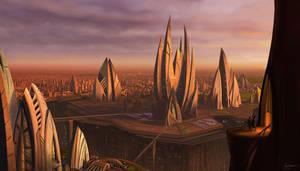Cityscape by jimmyjimjim