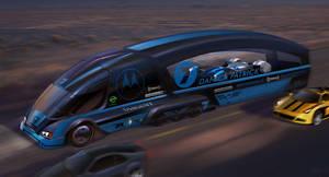 Indycar Transport by jimmyjimjim