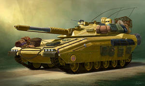 Desert Tank by jimmyjimjim