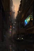 City Sketch 3 by jimmyjimjim