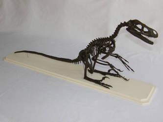 Bambiraptor Skeleton Sculpture by olofmoleman