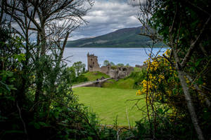 Urquhart Castle by knilch