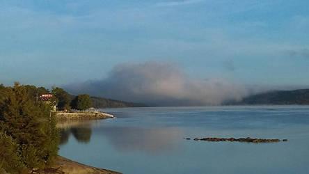 Sea fog by YersaCaltara