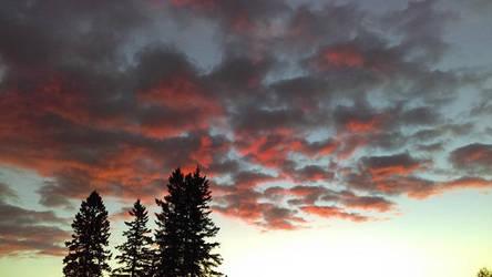 sky fire by YersaCaltara