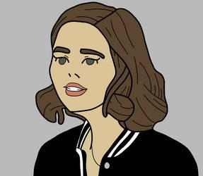 Jemma Simmons Progress #2 - Agents of Shield by Artsomethingx