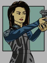 Melinda May - Agents of Shield by Artsomethingx