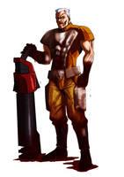 Quake 3 Arena Sarge by Raliuga999