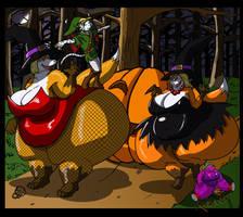 Ti and Li Halloween by Kazecat