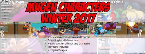 MUGEN Characters Winter 2017 by Kazecat