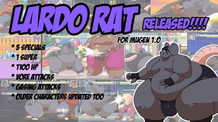 Lardo Rat Released for Mugen by Kazecat