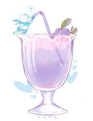 Blue Berry Juice by MUSTACHEfreak