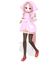 ktntk style Ooka Miko [DLINFORMATION] by jangsoyoung