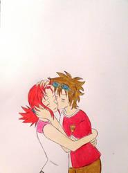 akaiki kiss by mardokk5