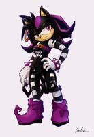 Sherry the Hedgehog +comm+ by BlackDragon-kin