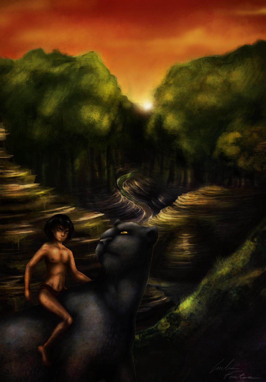 Jungle Book by BlackDragon-kin
