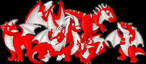Dragon Gang - Team Canada by Luane-Silverwing