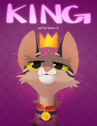 King...and he knows it. by beffalumps