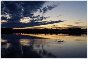 White Night in Krokom, Sweden by zaneta333