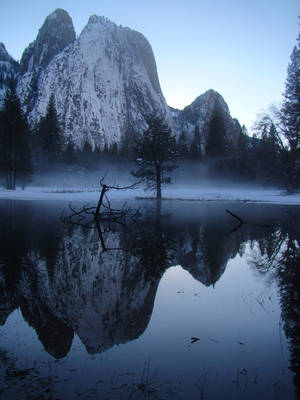 Cathedral Rocks in Yosemite by Geotripper