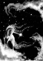 cloud unicorn by MiniBaah