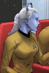 Captain Nalla zh'Vadrin by SeekHim