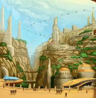Talee, the City of Deep Rock by SeekHim