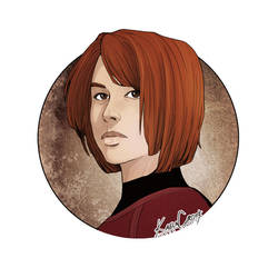 Lieutenant Monica Deerhorn by SeekHim