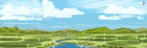 Raskee, the City of Grasslands by SeekHim