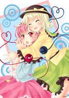Komeiji sister by Villyane