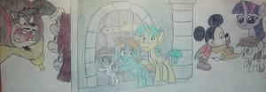 MLP Disney: MDG The Three Musketeers by jebens1