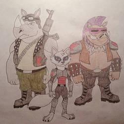 TMNT Group 4 (Mutan Enemies 1) by jebens1
