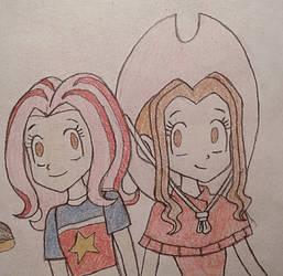 Mimi Twins by jebens1