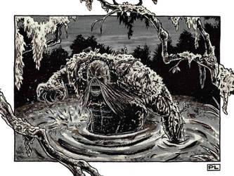 Swamp Thing by PedroLajud