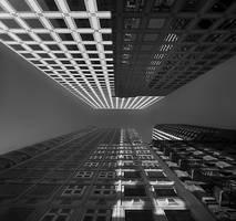 skyscraper flirting by VaggelisFragiadakis