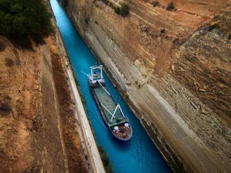 narrow passage by VaggelisFragiadakis