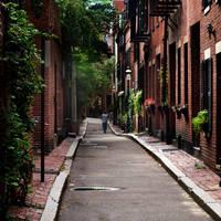 the alley on Beacon Hill... by VaggelisFragiadakis