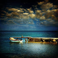 the little fishing boat....... by VaggelisFragiadakis