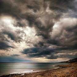 a seashore in Crete..... by VaggelisFragiadakis