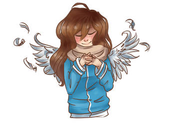 Ruby Angel by Hazelmutt