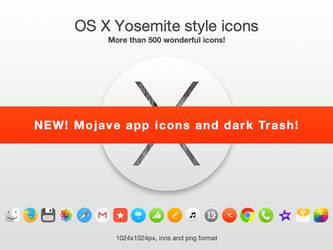 OSX Yosemite style icons by TigerCat-hu