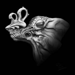 Improvised Creature Concept by remcv8