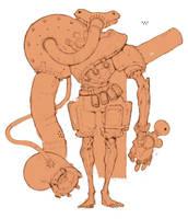 Robo by Artezianin