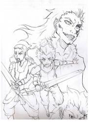 Excalibur knight is back by NavyBlueManga
