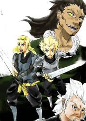 Excalibur knight Cover by NavyBlueManga