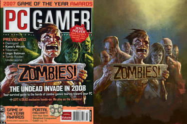 ZOMBIES for PCGamer magazine by francis001