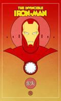 retro iron man 2 by francis001