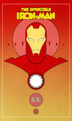 retro iron man 2 by francis001